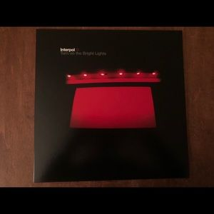 Interpol Turn on the Bright Lights Vinyl Album